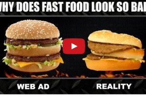 Is fast food really good as in advertisement?