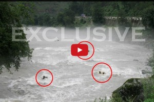 Indian Tragedy, Live Scenes, Hair-raising video of Beas river accident